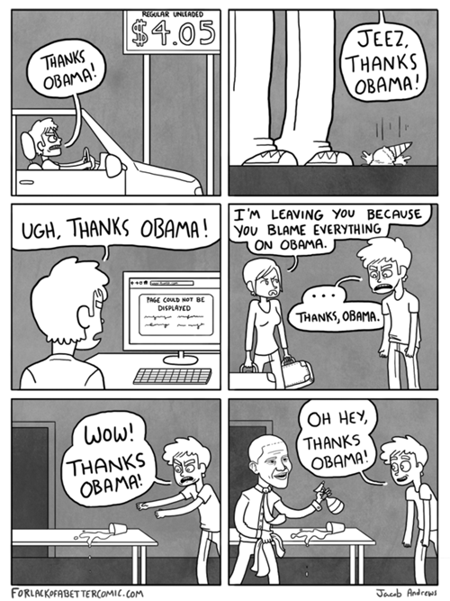 amerciana thanks obama funny web comics