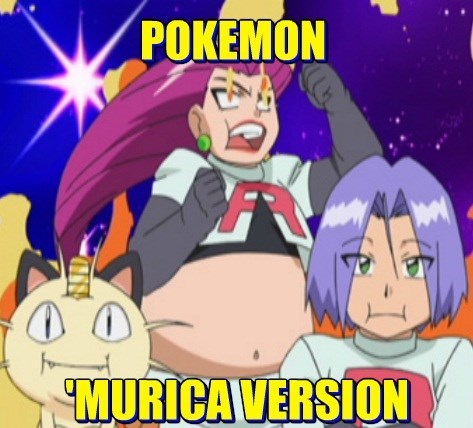 Pokémon,Team Rocket,murica,america
