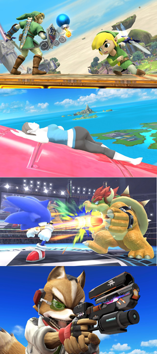 super smash bros screenshots wiiu nintendo Video Game Coverage - 7852761856