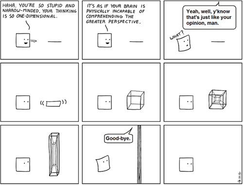 dimensions,shapes,funny,web comics