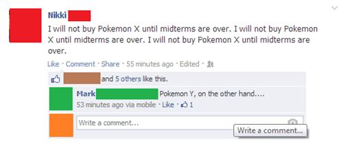 Pokémon facebook - 7852856320