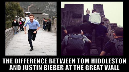 tom hiddleston great wall of china justin bieber Music g rated - 7853014016