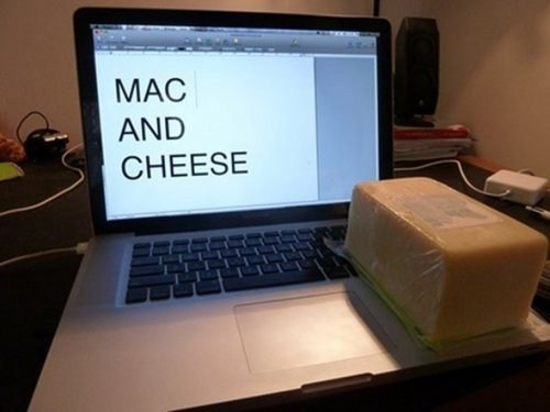 cheese puns mac food - 7853057792