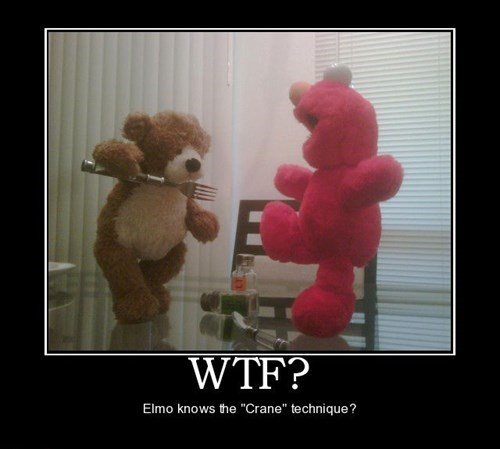 wtf martial arts elmo funny - 7853162752