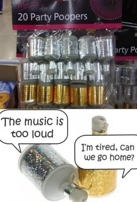 party pooper,puns,Party