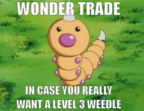 Pokémon,wonder trade