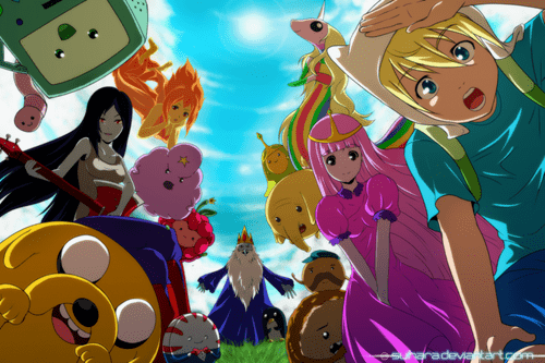 anime style Fan Art cartoons adventure time - 7853323008