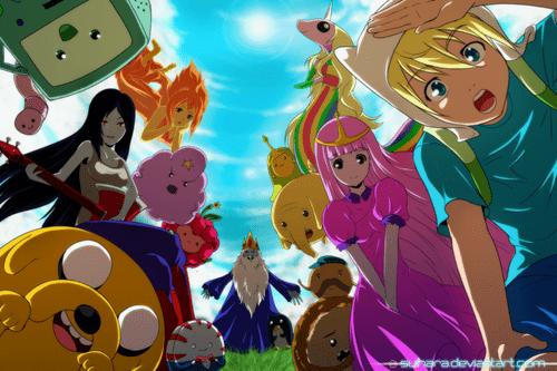 anime style Fan Art cartoons adventure time - 7853323008