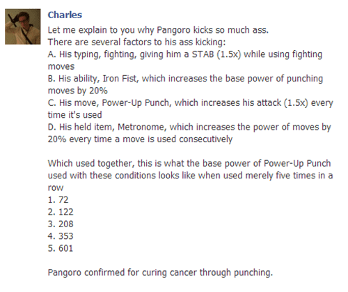 punching,facebook,Pangoro