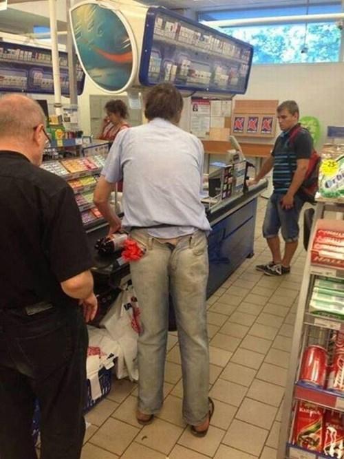 fashion shopping pants backwards - 7853571072