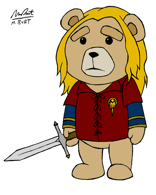 crossover Game of Thrones Fan Art TED - 7853607680