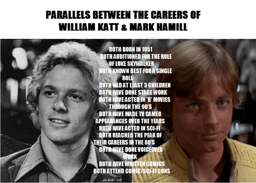 star wars greatest american hero William Katt Mark Hamill - 7854241280