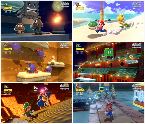 mario 3d world screenshots mario nintendo Video Game Coverage - 7854244096