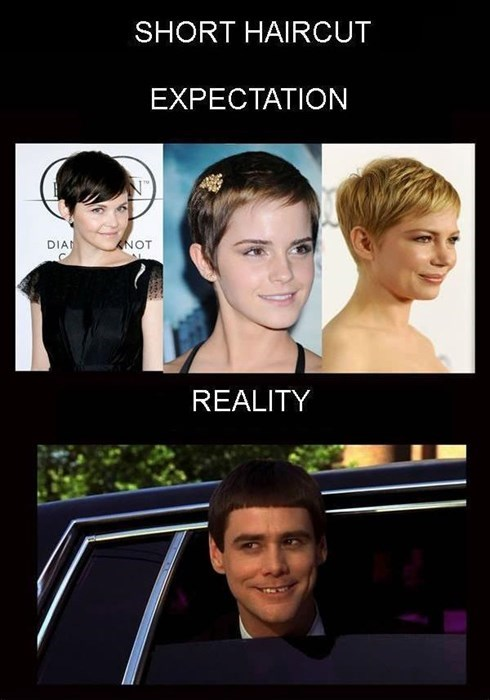 carey mulligan,Dumb and Dumber,short hair,emma watson
