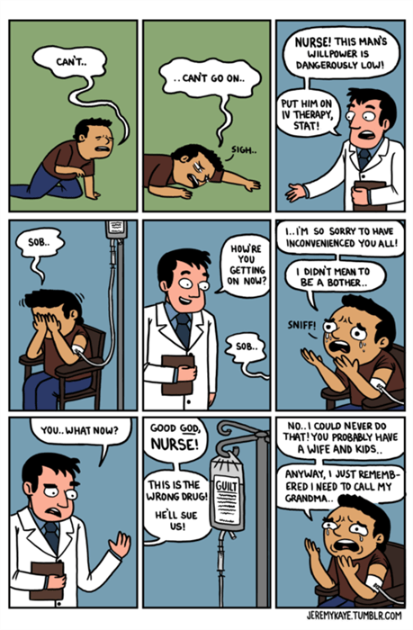 guilt,doctors,funny,web comics