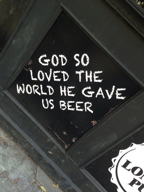 bar god beer funny - 7854462208