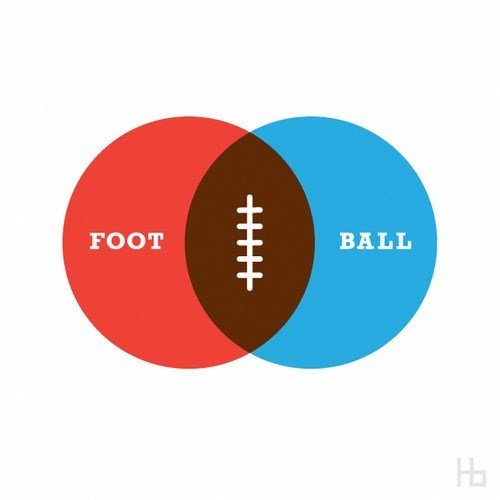 sports venn diagram football - 7854473984