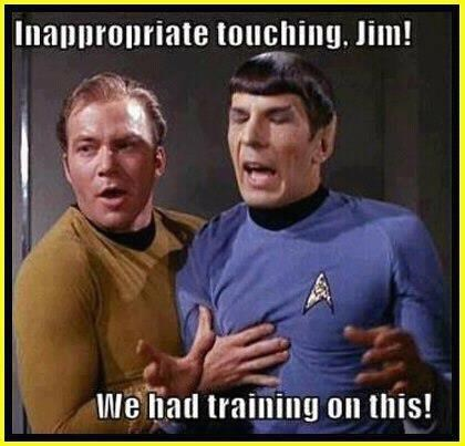 inappropriate Spock kirk Star Trek - 7854477824