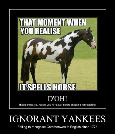 english america spelling funny - 7854485248