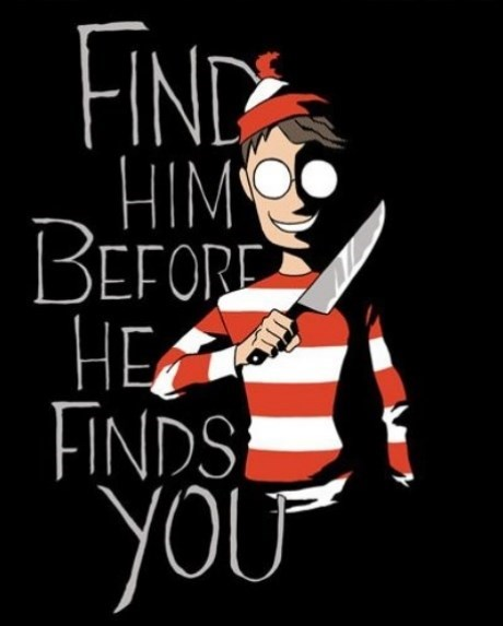 halloween wheres waldo famously freaky g rated
