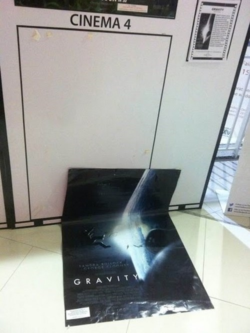 poster uproxx Gravity irony funny fail nation g rated