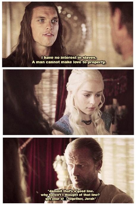 deanerys targaryen jorah mormont Game of Thrones friendzone khaleesi - 7854609408