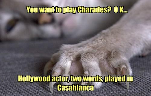 claude rains pun movies claws casablanca - 7854623232