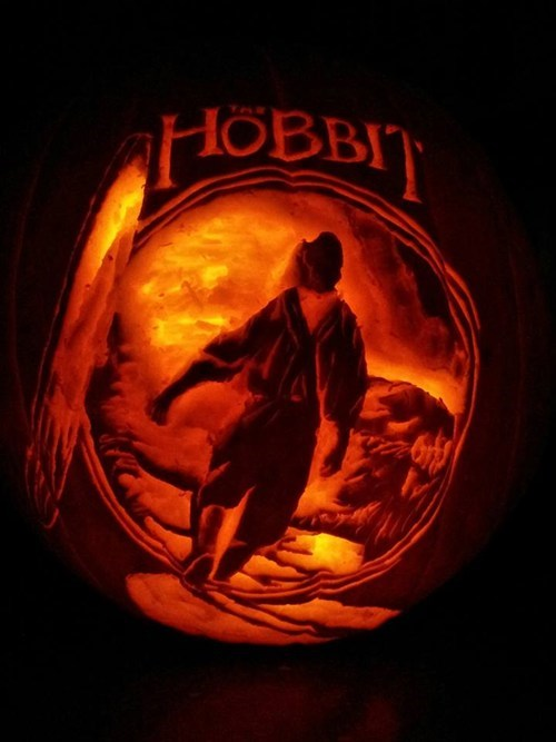 ghoulish geeks jack o lanterns The Hobbit - 7854671872