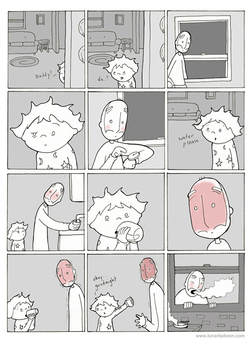 Heat,kids,soup,bad timing,funny,web comics