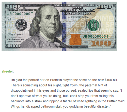 Benjamin Franklin 100 dollar bills dollars dollar bills money - 7854812160