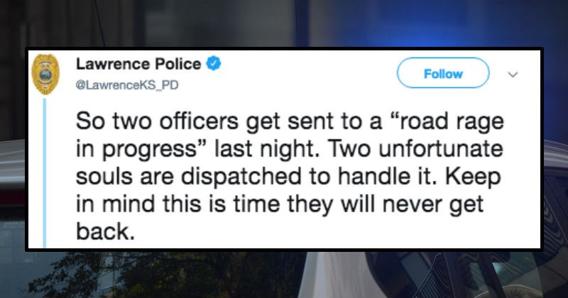 police respond to road rage