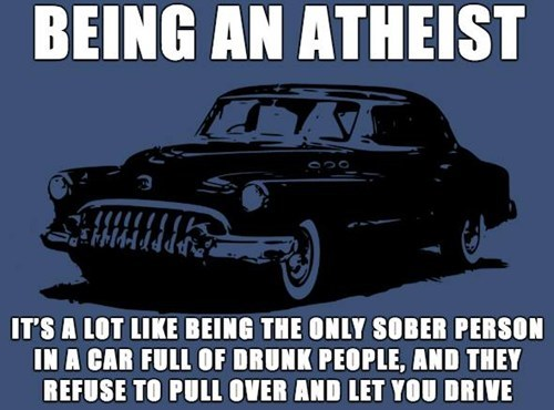 What Being an Atheist is Like