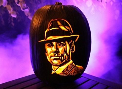 don draper halloween jack o lanterns famously freaky mad men - 7856029696