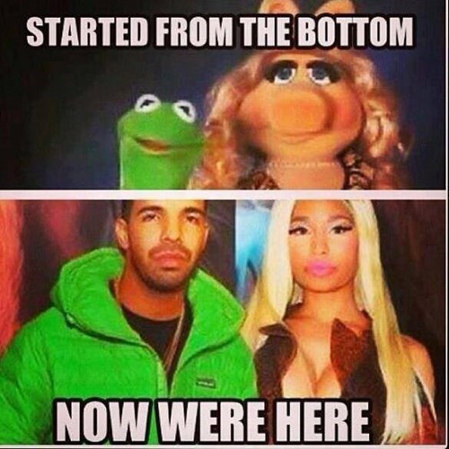muppets,kermit,nicki minaj,bruno mars,miss piggy,Music,g rated