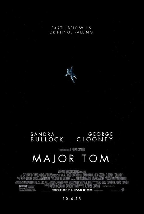 mashup major tom Gravity - 7856115456
