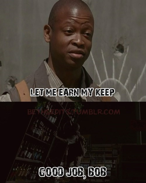 bob,zombie fail,The Walking Dead