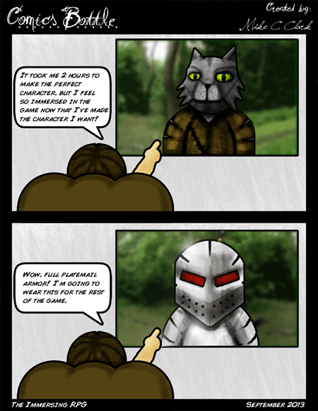 RPGs,armor,funny,web comics