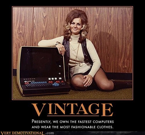 old computers clothes funny vintage - 7856343552