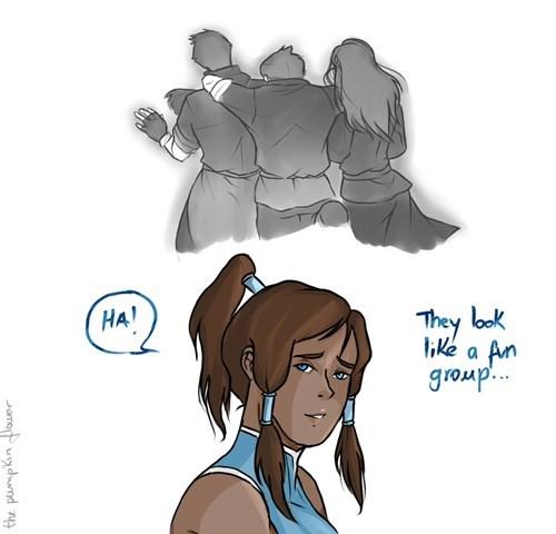 feels Fan Art cartoons Avatar korra - 7856412928