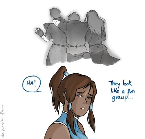feels Fan Art cartoons Avatar korra - 7856412928