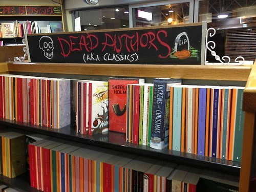 halloween,dead authors,books,funny,g rated,School of FAIL
