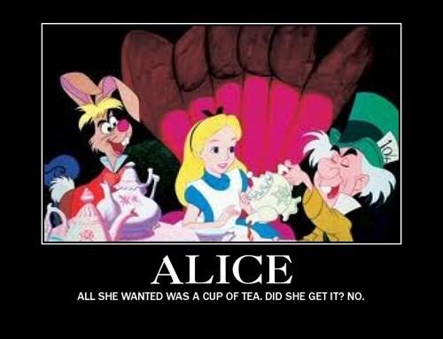 alice in wonderland mushroom tea funny - 7856418816