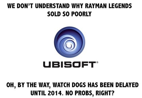 Ubisoft,delays,rayman legends