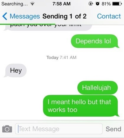 autocorrect hallelujah text g rated AutocoWrecks - 7856564992