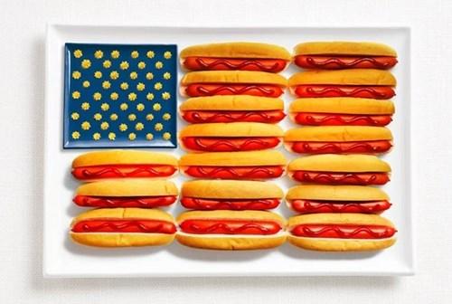 American Flag america food - 7856566784