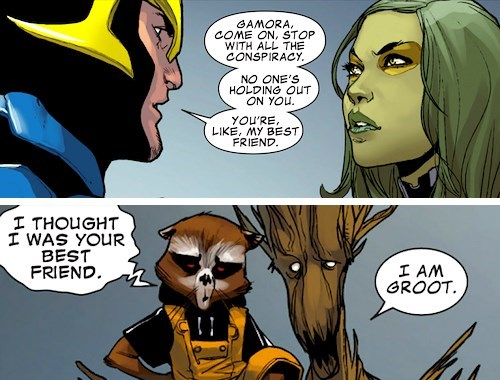 guardians of the galaxy off the page rocket racoon groot gamora - 7856576256