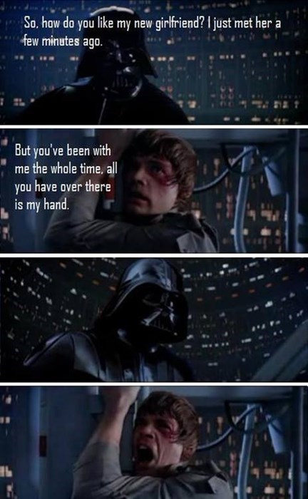 luke skywalker Empire Strikes Back darth vader - 7856659200
