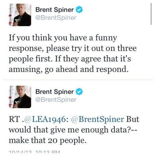 brent spiner TNG data celebrity twitter