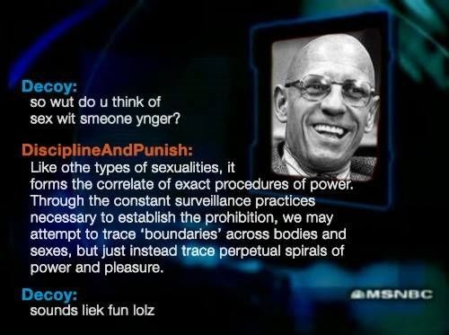 to catch a predator foucault philosophy funny - 7856728576