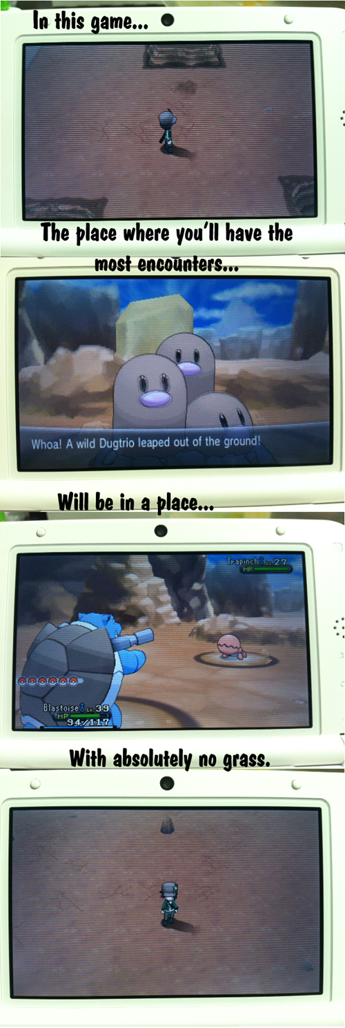 dugtrio gameplay route 14
